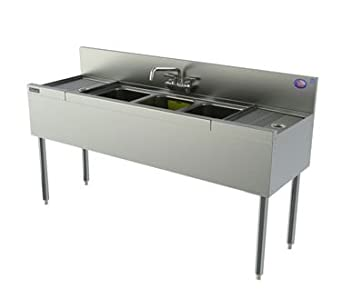 Perlick Corporation TSD63C TSD Series Underbar Sink Unit