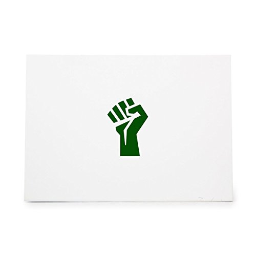 Protest Fist Hand Propaganda Punch Style 17077, Rubber Stamp Shape great for Scrapbooking, Crafts, Card Making, Ink Stamping Crafts