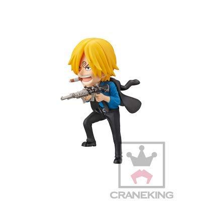 Super Dragonball Super One Piece World Collectable Figure-Mini Merry No. Attack-Sanji