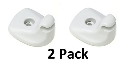 2 Pack 2007-2010 Chrysler Sebring Dodge Avenger Visor Support Clip Mopar Aftermarket