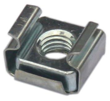 PC AllMetalParts 20 M6 Cagenuts Screws Washers 2.7mm-3.5mm