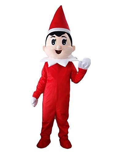 Amazon.com: Rrushopn - Gorro rojo de Navidad, diseño de niño ...