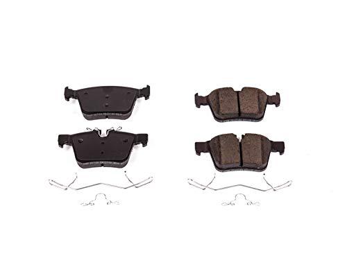 (Power Stop 17-1821, Z17 Evolution Ceramic Rear Brake Pads)