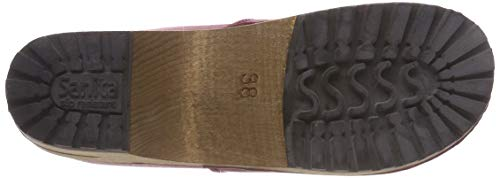 Wood 4 Juki Red Slouch Sanita Boot Women's Dark Red cAwc4W5qx