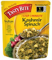 Tasty Bite Kashmir Spinach -- 10 oz (Spinach Bite Tasty)