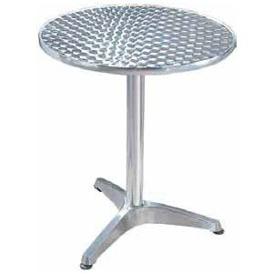 Amazon Table De Cuisine.Table Ronde Bistrot Aluminium Diam 60 Cm Amazon Fr Cuisine