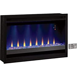 ClassicFlame Traditional Built-in Electric Fireplace Insert