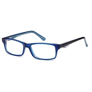 Womens Prescription Eyeglasses Rxable 48-15-130-29 in Blue