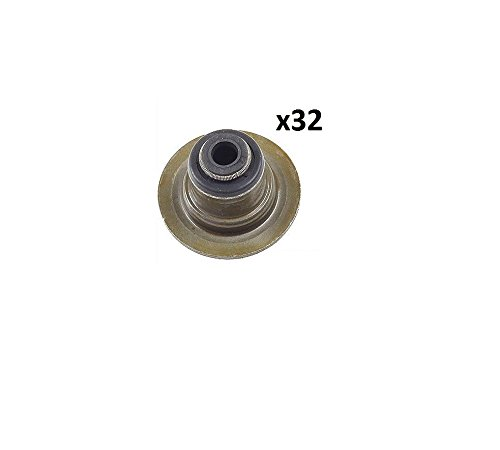 Set of 32 Jaguar S-Type Vanden Plas XF XJ8 XJR XK XK8 XKR Engine Valve Stem Oil Seal	Eurospare	NCE2528AC by Eurospare