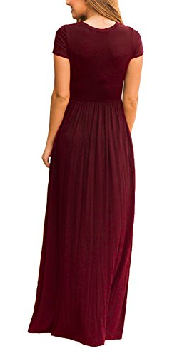 Euovmy-Womens-Short-Sleeve-Loose-Plain-Maxi-Dresses-Casual-Long-Dresses-with-Pockets