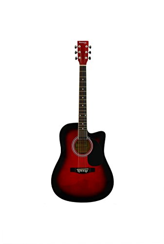 Huntington GA41C-RDS Acoustic Cutaway Guitar 41-Inch , Red Sunburst