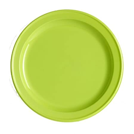 ISAP France 12 Round Lime Green Plastic Plates 23.5 cm  sc 1 st  Amazon UK & ISAP France 12 Round Lime Green Plastic Plates 23.5 cm: Amazon.co.uk ...