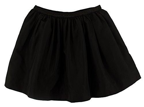 Fully Lined Taffeta Skirt (Ralph Lauren Girls' Taffeta Skirt Black (XL(16)))