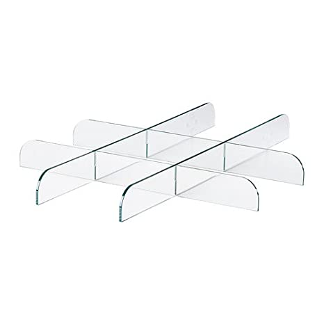 Ikea KOMPLEMENT - Divisor para la Bandeja extraíble, Transparente - 50x58 cm: Amazon.es: Hogar