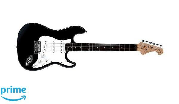 Tenson F503100 - Guitarra eléctrica RC-100, color negro: Amazon.es: Instrumentos musicales