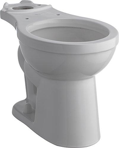 Delta Faucet C21905-WH Haywood Toilet Bowl, White - White Toilet Bowl