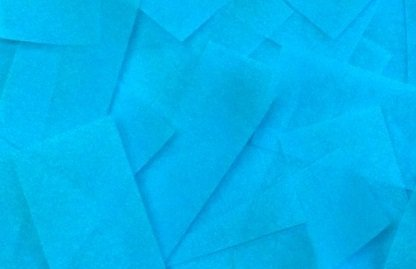 Teal Tissue Confetti For Poppers, Launchers, Art Projects, Gender Reveal, Wedding
