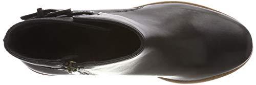 Noir Clarks Jax Femme Botines Clarkdale Leather black wRU6qvWR