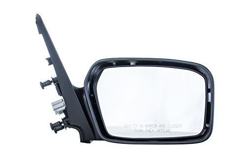 Dependable Direct Right Passenger Side Unpainted Non-Heated Non-Folding Door Mirror for Ford Fusion, Mercury Milan (2006 2007 2008 2009) FO1321265