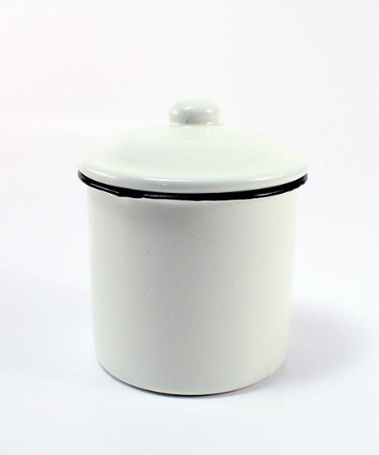 French Provençal Mini Decorative Canister with Lid - Provencal Canister
