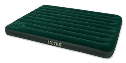 Intex 66929 colchón, PVC-Poliestere, Verde, Matrimonio, 30.5 x ...