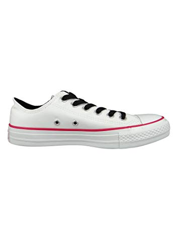 Converse Pink Pop de Adulto White CTAS Deporte 102 White Multicolor Ox Unisex Zapatillas pqR4Brp