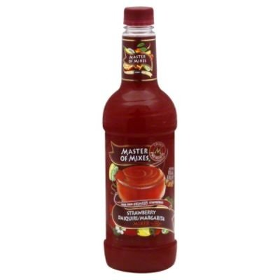 Master of Mixes Strawberry Daiquiri Mix, 33.81-Ounce (Pack of 6)