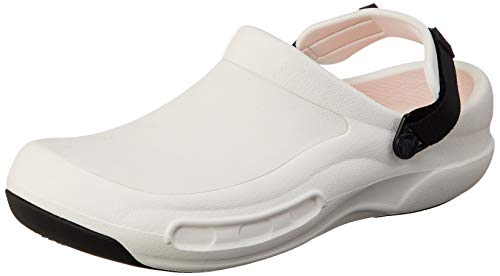 Crocs Bistro Pro LiteRide Clog, white, 14 US Women / 12 US Men