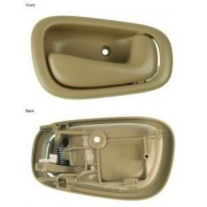 1999 99 Toyota Corolla Door Handle Inside Passenger Side Front Or Rear Beige