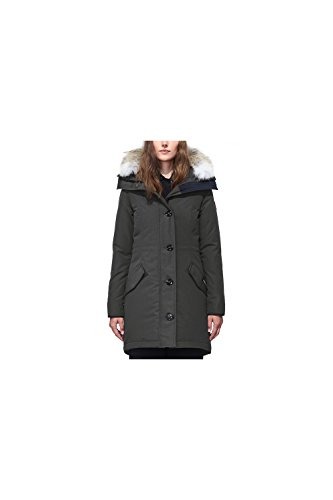 (Canada Goose Women's Rossclair Down Parka Coat (X-Small, Admiral Blue))