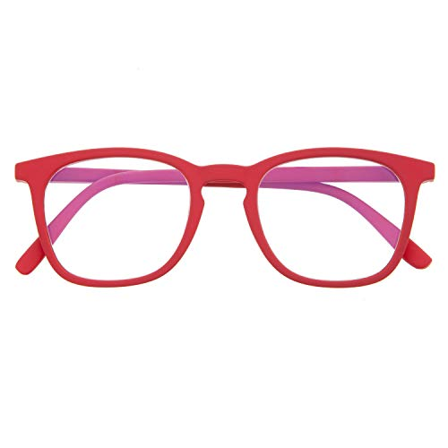 Reading Glasses for Men and Women. Blue Light Blocking Computer Readers. Rubber Touch Flexible Temple and Anti Glare Glasses. Ferrari +2.0 - TATE