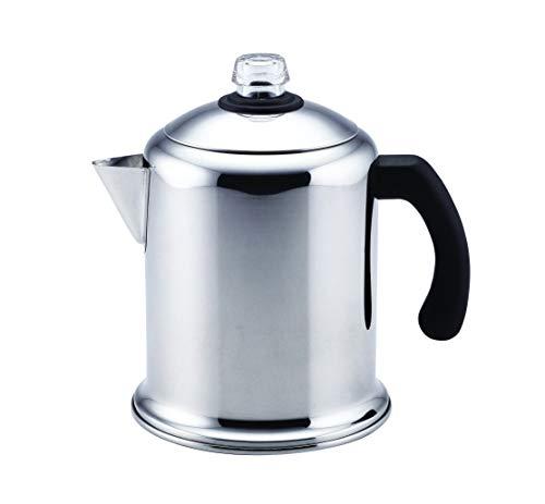Farberware Farberware 50124 Classic Stainless Steel Yosemite 8-Cup Coffee Stovetop Percolator