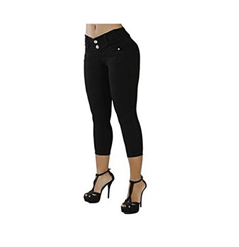 t Pantalons Femmes Patte Jeans Skinny Denim Jeans Hipster Noir Bouton Jeans FuweiEncore Jeans Skinny Pantalon Jeans Haute Taille anqZ1xw