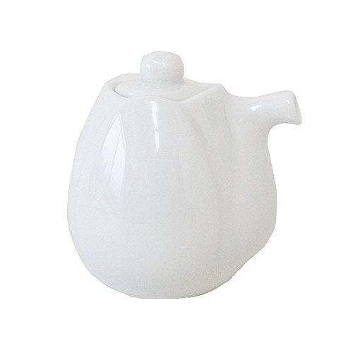 Pottery Sauce (Yamani Pottery Miyama Minoyaki haas Soy Sauce pot bottle White Only Bottle from Japan)