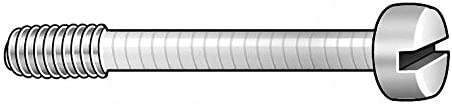 3//4 18-8 Stainless Steel Captive Panel Screw with 4-40 Thread Size and Smooth Head Type