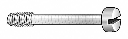 1/2'' 18-8 Stainless Steel Captive Panel Screw with 8-32 Thread Size and Smooth Head Type by GRAINGER APPROVED