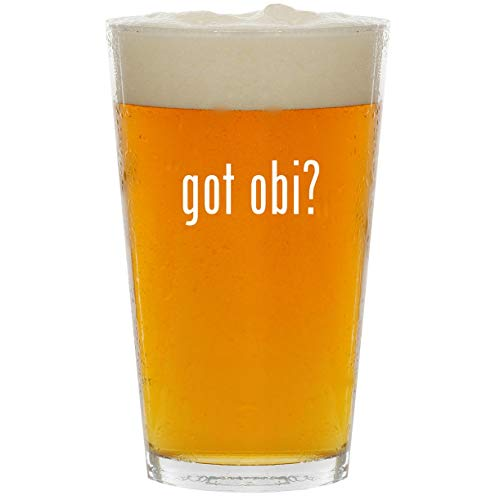 got obi? - Glass 16oz Beer Pint for sale  Delivered anywhere in USA