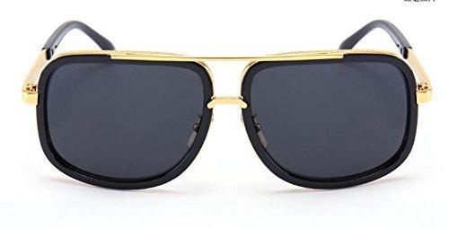 en métallique Noir du retro de Film inspirées polarisées style rond Lennon vintage soleil cercle lunettes IxP6qwnYzI