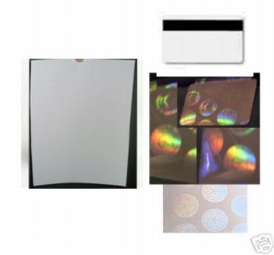 amazon com ez pvc id card kit with holograms real not fake no