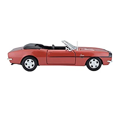 Maisto 1:24 Scale 1968 Chevy Camaro SS 396 Convertible Diecast Vehicle (Colors May Vary): Toys & Games
