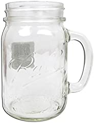 JARDEN HOME BRANDS 1440016000 Ball Regular Mouth Drinking Mason Jar, 16 oz
