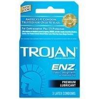 Trojan Enz Lubricated 1 - 3 pack (Package Of 4)