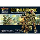Bolt Action British Airborne Allied Paratroopers 1:56 WWII Military Wargaming Plastic Model Kit