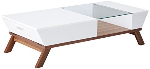 247SHOPATHOME YNJ-CT1015WHT-A1 Coffee-Tables, White