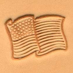 Amazon Com Tandy Leather Craftool 3d Usa Flag Stamp 88354 00