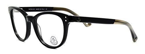 Eyeglasses Moncler MC029 V01 shiny black frame - Moncler Shiny
