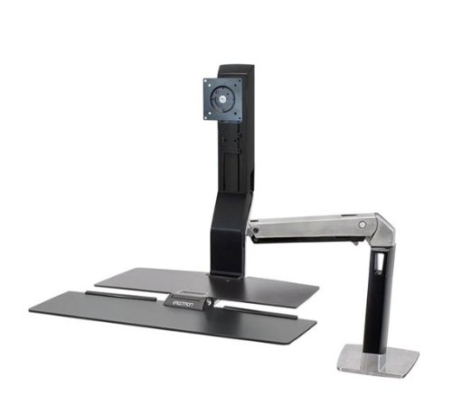 Ergotron WorkFit-A Clamp Single HD with Worksurface+ (24-275-026) by Ergotron