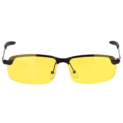 CUEA Zonnebril, niet-verblindend, nachtzicht, gepolariseerd, draagbaar, voor fietsen en rijden