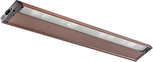 Kichler 4U120X30BZT 4U Series Under Cabinet, 4 Light Xenon 80 Total Watts, Bronze Textured