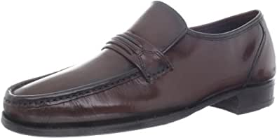Florsheim Men's Como Slip-On,Black Cherry,9 B US